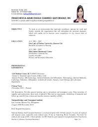 Resume For Nursing Jobs - Kleo.beachfix.co