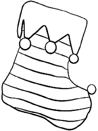 Small Picture Stripe Christmas Stockings Coloring Pages NetArt