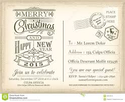 vintage merry christmas holiday postcard stock vector image vintage christmas and happy new year holiday postcard background royalty stock photo
