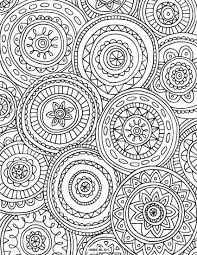 Circled Mandalas Large 11 Free Mandala Coloring Pages For Adu