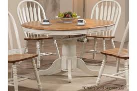 white round kitchen table. wooden white round table with four chairs and simple carpet kitchen