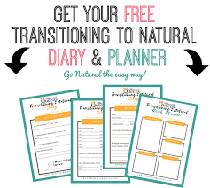 My Transitioning To Natural Hair Free Downloadable Diary Planner