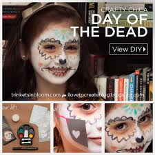 a simple way to create your own day of the dead makeup with this crafty chica face paint kit it has everything you need to simply and easily create your