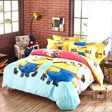 minion bed set queen king twin size 3 2 sheets eagles nfl bedding comforters