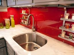 Red Kitchen Tile Backsplash Red Kitchen Tiles Ideas Quicuacom