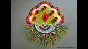 Easy Diya Rangoli Designs For Diwali 25 Simple Rangoli Designs For Diwali To Try Wedandbeyond