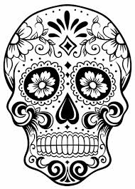 Small Picture Sugar Skull Coloring Pages Print sugar skull coloring pages