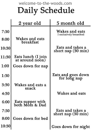 Daily Routine Chart For 2 Year Old 50 Best Photos Of Toddler Daily Routine Chart Toddlers