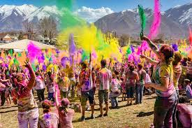holi festival of colors welcomes the spring season student holi festival of colors welcomes the spring season