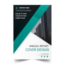 Green Brochure Template Green Wave Cover Annual Report Template Template For Free Download