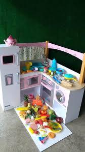 kidkraft wooden kitchen accessories uk toy