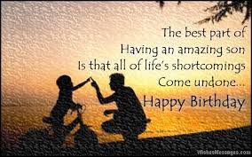 Birthday Wishes for Son: Quotes and Messages – WishesMessages.com via Relatably.com