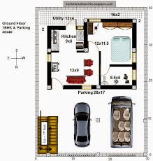 40 r33 1bhk and 3bhk in 30x40 north facing requested plan