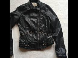 trafaluc zara las bike jacket faux leather sz 10 used 10