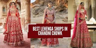 Designer Lehenga Replica Delhi 11 Best Lehenga Shops In Chandni Chowk For Wedding Shopping