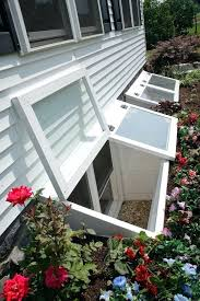 installing window wells replace basement repair cost to