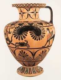 Grecian Pottery Designs Greek Black Figure Pottery Designs By Katy Rosenthal