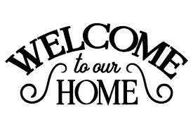 Welcome To Our Home Svg Cut Files Download Free Svg Files Baby Girl