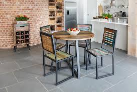 urban chic round dining table 100cm x 100cm