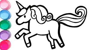 Coloring Pages Coloring Pages Unicorn And Drawing Learn Colors For