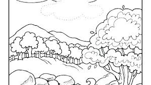 Creation Coloring Book Creation Coloring Sheets Pages 6 Days Of For
