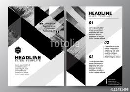 Black And White Flyer Templates Black And White Flyer Background