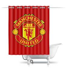 Шторы в ванную <b>Манчестер Юнайтед</b> #2567280 от geekbox