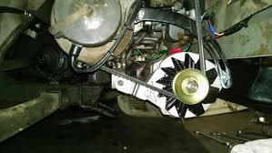 install a volt alternator on your old car steps install a 6 volt alternator on your old car