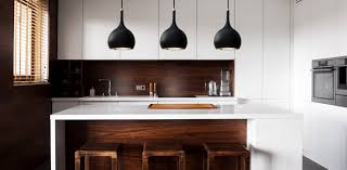 matt black pendant lighting with cob technology