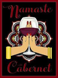 Amazon Com Jan Davidson Collection Namaste With Chardonnay