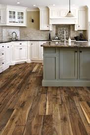 Full Size of Industrial Kitchen: Reclaimed Wood Ogee Pattern Varnished  Wooden Floor White Painted Wooden ...