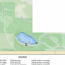 Bay City Lake Fishing Map Us_mi_49_69 Nautical Charts App