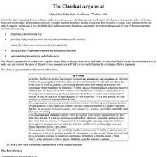 essay writing pearltrees the classical argument