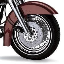chopped rear fender for sportster models vivid black