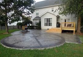 simple patio designs concrete. Perfect Concrete Patio Designs \u2014 Unique Hardscape Design Simple E