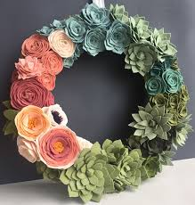 felt-flower-succulent-wreath-141