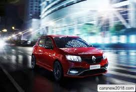 renault sandero 2018. contemporary renault french novelty has at its disposal a stabilization system can be switched  off as well sports steering and suspension settings throughout renault sandero 2018
