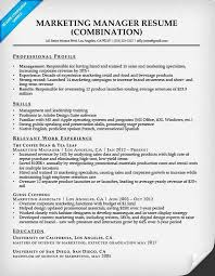 Sample Resumes Combination Resume Samples Resume Companion 59