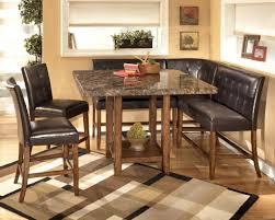 Corner Kitchen Table Nook Kitchen Furniture Cozy Unique Rustic Bar Stools Combined Corner