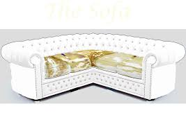 white leather corner crystal chesterfield sofa 1 2 3