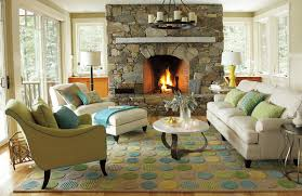 traditional living room ideas with stone fireplace designing the