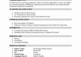 Easy Resume Examples Lovely Easy Resume Examples Awesome Good