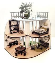 dollhouse furniture diy.  Dollhouse Mid Century Modern Dollhouse Furniture Doll House Diy    To Dollhouse Furniture Diy