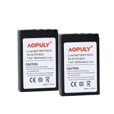 AOPULY <b>2 pcs 1800mAh</b> PS BLS1 BLS 1 BLS1 Battery for Olympus ...