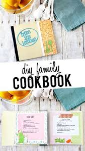 fun family project diy cookbook using sbook embellishements and family recipes livelaughrowe