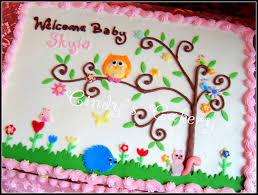 Baby Shower Sheet Cakes For A Girl  Google Search  Baby Shower Owl Baby Shower Cakes For A Girl