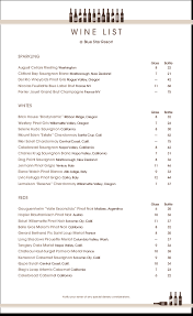 Wine List Templates That Are Easy To Edit - Musthavemenus