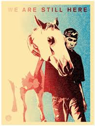 Pine Ridge (We Are Still Here) Print - Obey Giant