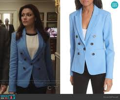 WornOnTV: Emily's blue blazer on Designated Survivor   Italia Ricci    Clothes and Wardrobe from TV