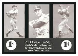 Baseball Card Vending Machine For Sale Amazing Vintage Baseabll Memorabilia Yogi Berra Exhibit Card